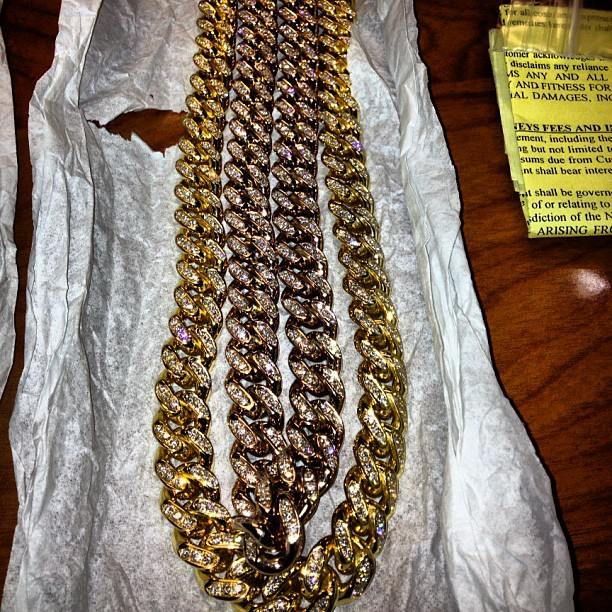 french-montana-iced-out-yellow-gold-miami-cuban-link-chain