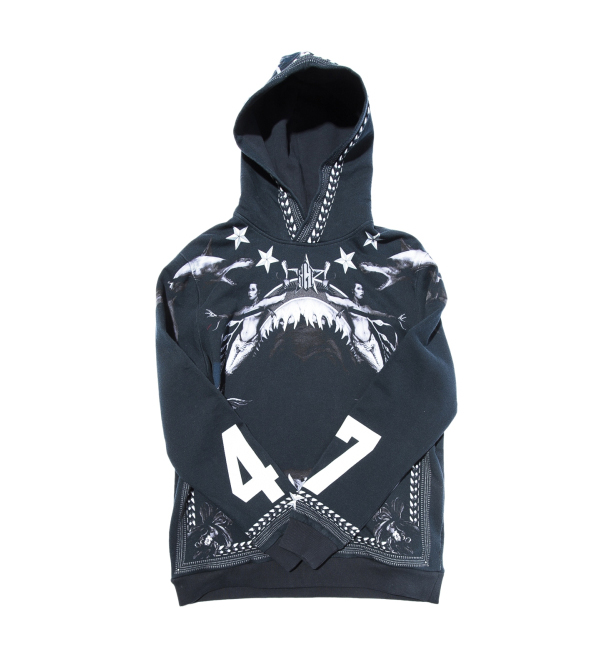givenchy-shark-mouth-mermaid-hoodie