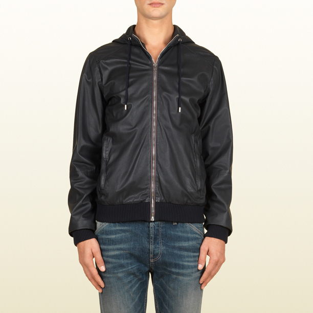 gucci-leather-hooded-bomber-jacket-black
