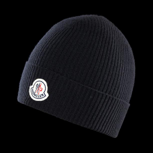 moncler-hat-beanie-black