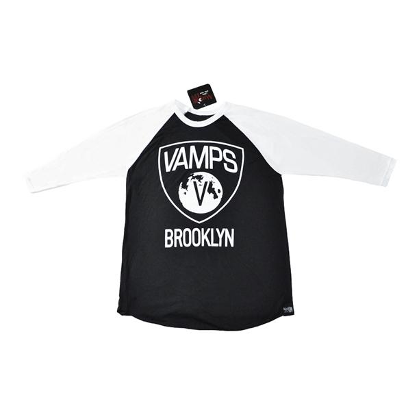 vampire-life-clothing-brooklyn-vamps-baseball-shirt-black-white-sleeves