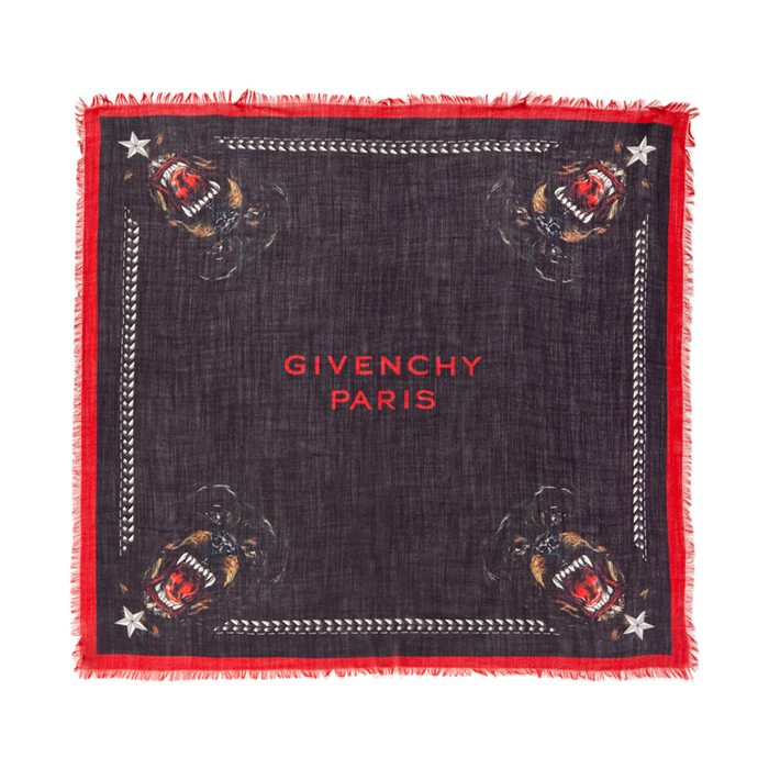 givenchy-rottweiler-scarf-black-red