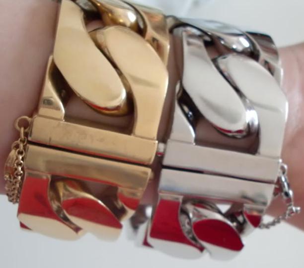 Celine-ID-Chain-Bracelet-Gold