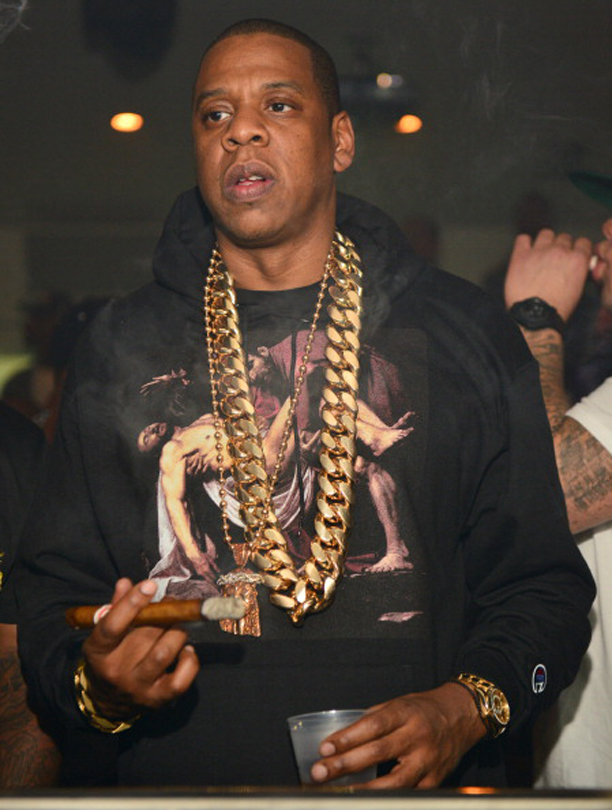 Jay-Z 5 Kilo Yellow Gold Cuban Link Chain Splash