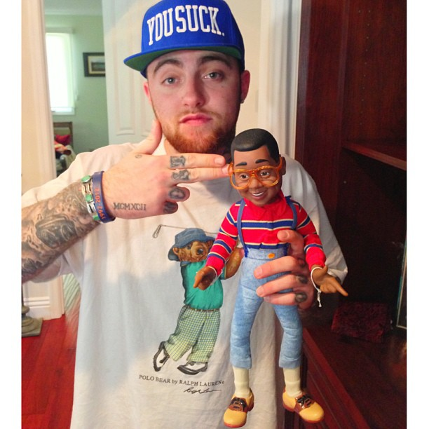 mac-miller-polo-ralph-lauren-polo-bear-golf-shirt