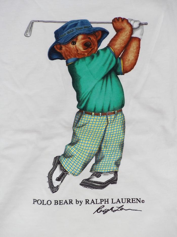 Mac Miller Wearing Polo Ralph Lauren Golf Player Bear Shirt ... eb3ca1d0e536