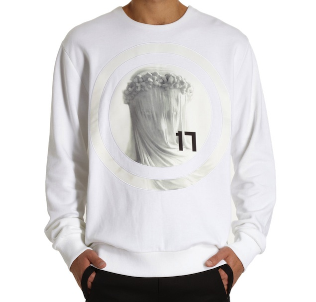 Givenchy-Virgin-Mary-White-Sweatshirt