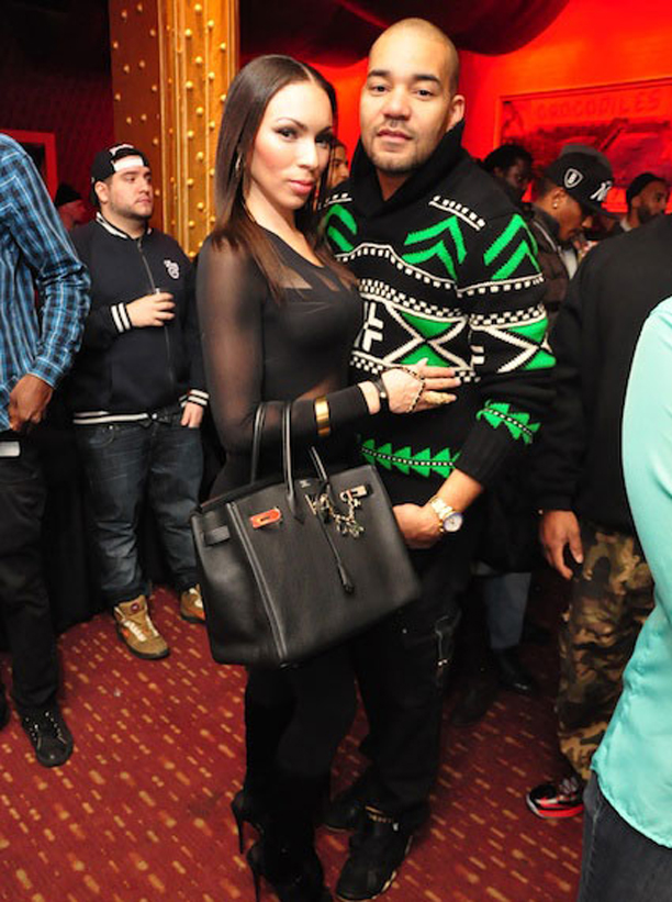 Gucci Link Chain >> DJ Envy Wearing Black & Green Polo Ralph Lauren Wool Shawl Pullover | Splashy Splash