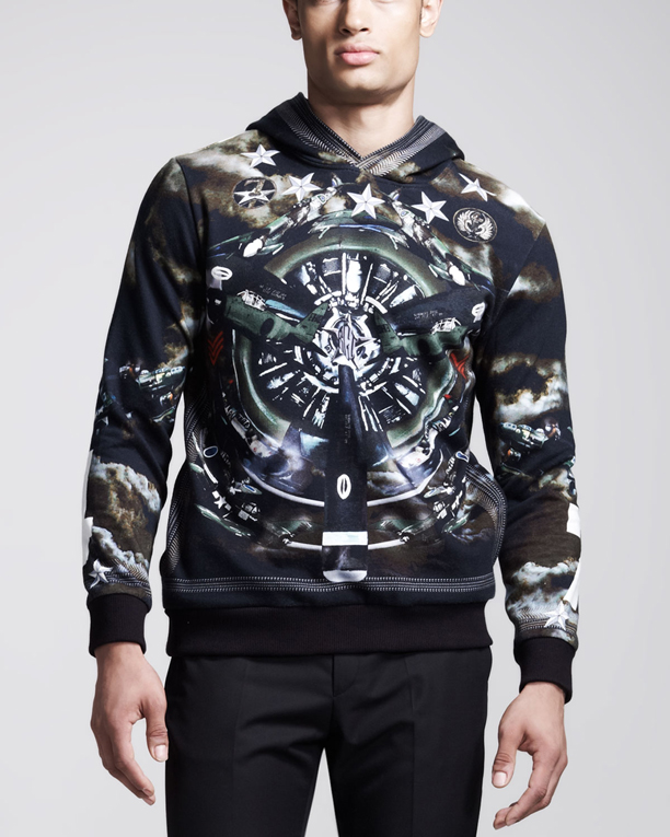 givenchy-plane-print-hoodie