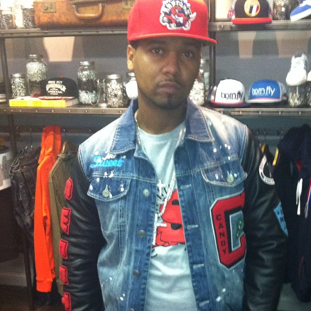 juelz-santana-protocol-candy-shop-denim-jacket-raptors-snapback