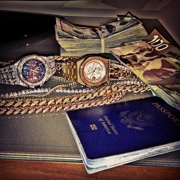 meek-mill-audemars-piguet-passport-canadian-money