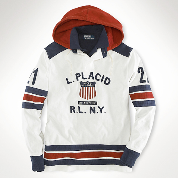 2bc041ac3a2 Juelz Santana Wearing Polo Ralph Lauren Lake Placid Hooded Rugby ...