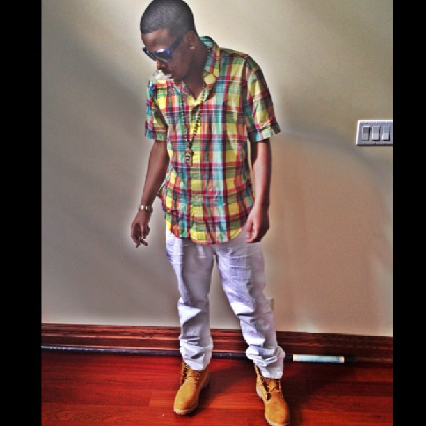 ballout-polo-ralph-lauren-custom-fit-plaid-shirt-timberland-boots-3