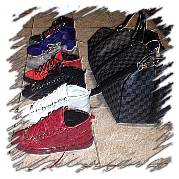 hollywood-p-balenciaga-sneakers-louis-vuitton-damier-keep-all-duffle-bag