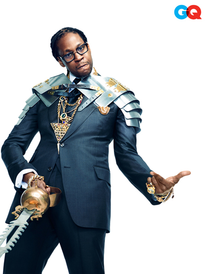 2 Chainz Featured On GQ's June Comedy Issue Wearing ...