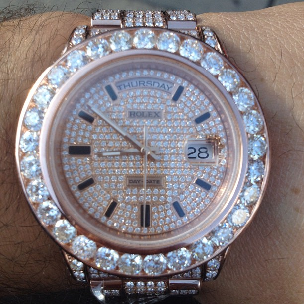 meek-mill-rose-gold-iced-out-rolex-day-date-2