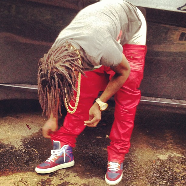 chief-keef-gucci-italy-gg-flag-shirt-Balenciaga-Perforated-Multimatieres-sneakers