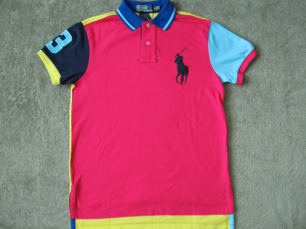 polo-ralph-lauren-big-pony-colorblock-shirt-neon-pink