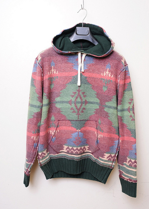 04af8f7d6 ... coupon code for polo ralph lauren navajo aztec pullover hoodie d6975  94e8d