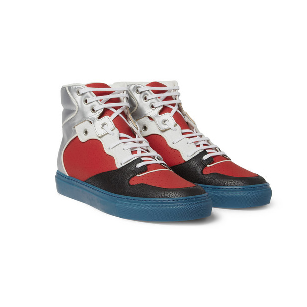Balenciaga-Panelled-High-Top-Sneakers