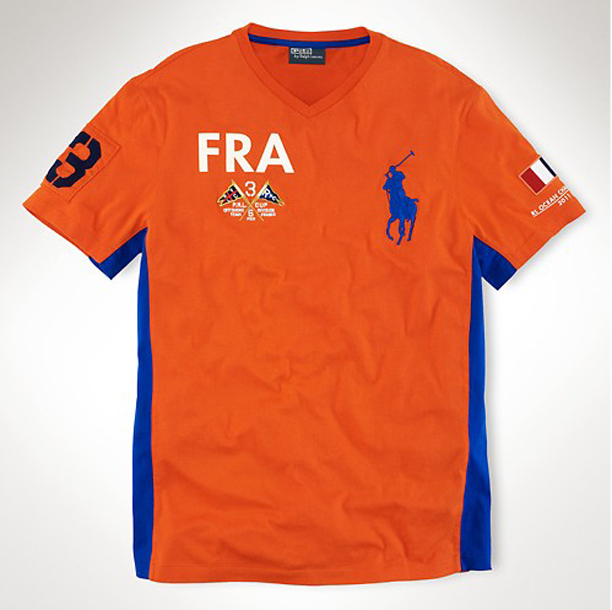 fc6dae3cc47 Papoose Wearing Polo Ralph Lauren France Ocean Challenge V-Neck ...