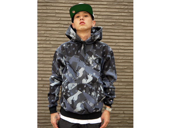 champion camo sweatshirt