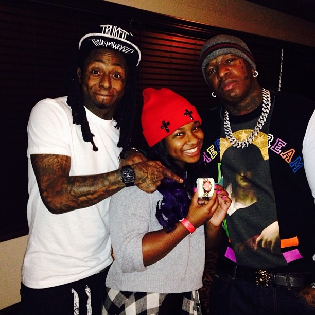 Birdman Wearing Givenchy Colorblocked Madonna American