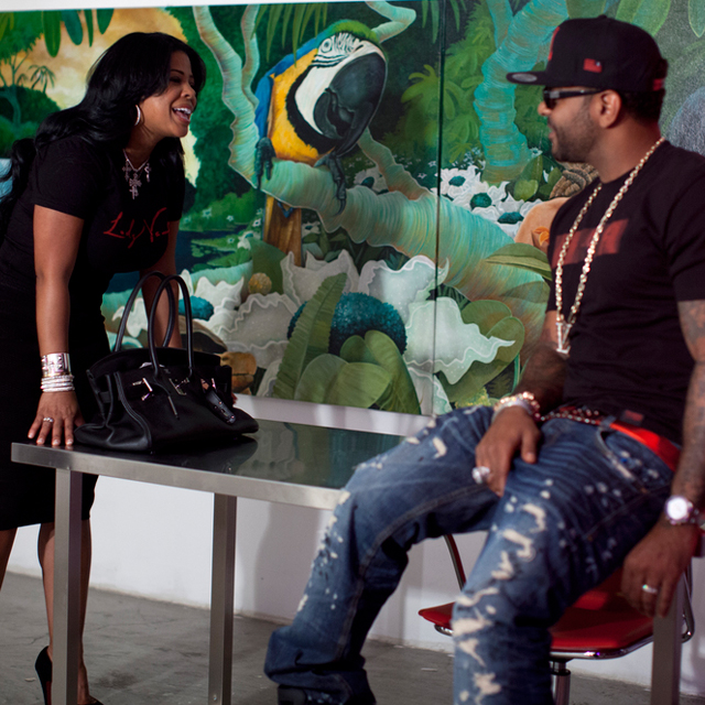 Jim Jones & Chrissy Lampkin Vampin Together in Vampire Life Clothing