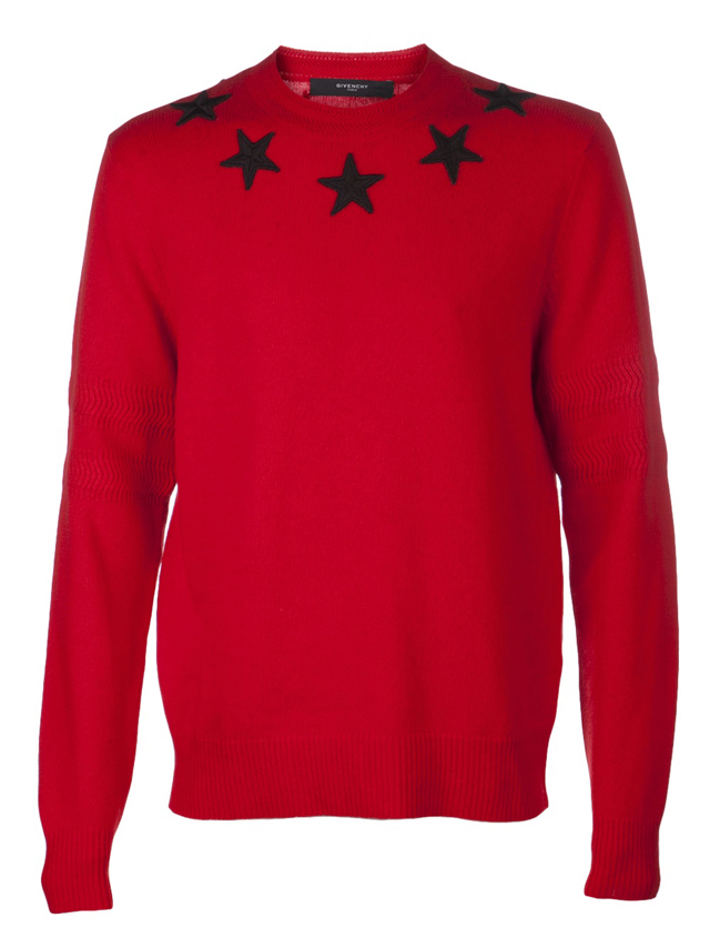 Fabolous wearing Givenchy Red Star Collar Sweater | Splashy Splash