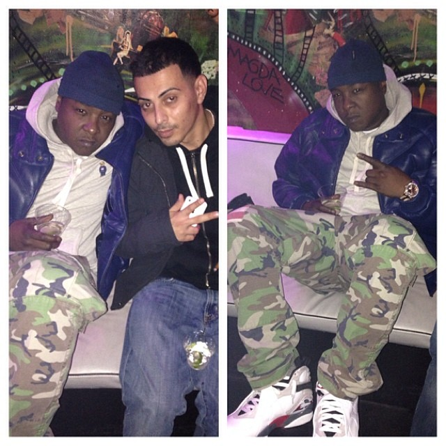 jadakiss-double-goose-jacket-denim-and-supply-camo-cargo-pants-ralph-lauren-polo-bear-pullover-hoodie