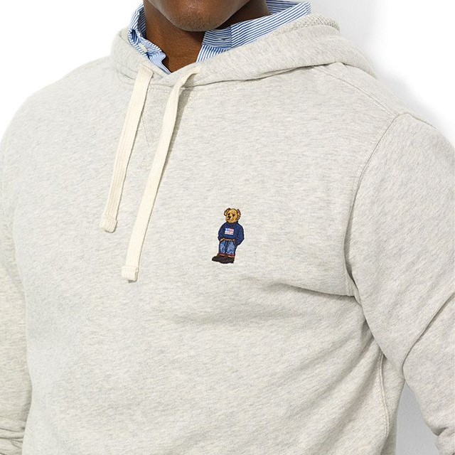 Coon Philly wearing Polo Ralph Lauren Polo Bear Pullover Hoodie