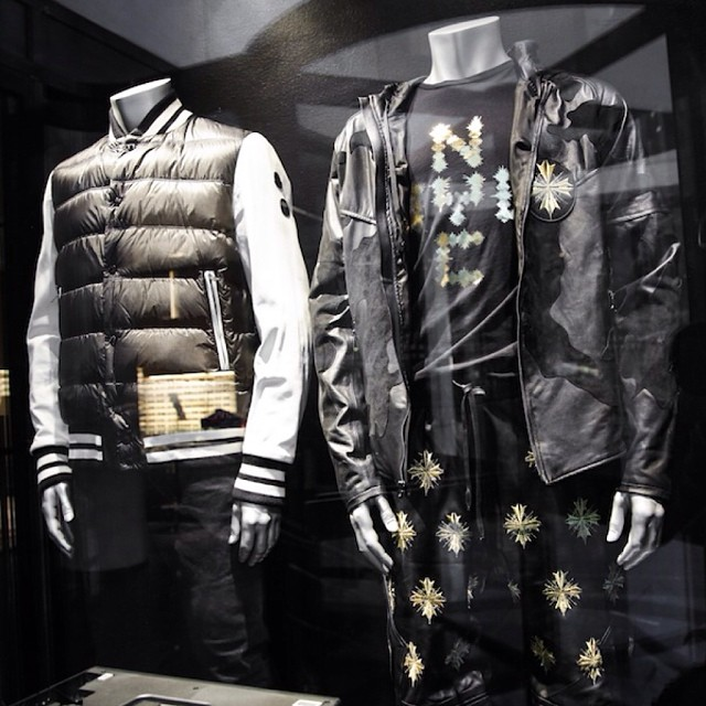 en-noir-jay-z-sean-carter-collection-barneys-moncler-leather-sleeve-puffer-varsity-jacket-boxing-shorts-camo-jacket