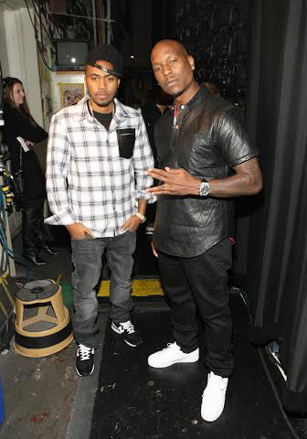 Nas Wearing Hstry Clothing Flannel Shirt Amp New Balance