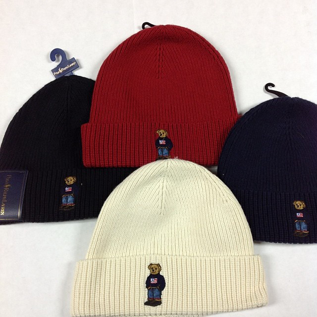 Jadakiss wearing Polo Ralph Lauren Polo Bear Beanie and RLX Core ... 9d329c36335