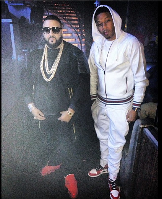 vado-gucci-felted-toweling-hooded-jacket-felted-toweling-pants-air-jordan-1-white-varsity-red-on-feet