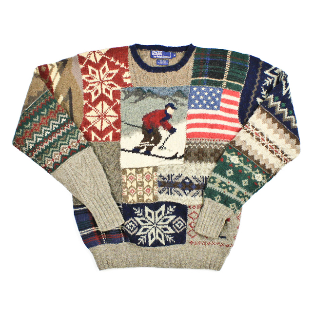 Ralph Lauren Toggle Sweater