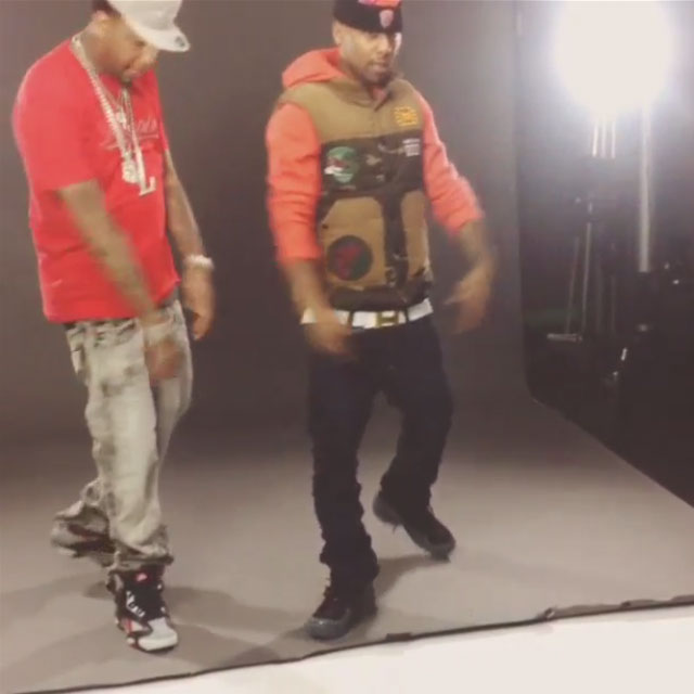 "434a375f4a Juelz Santana wearing Slowbucks Renagade Vest in ""Everything Designer"" Video"