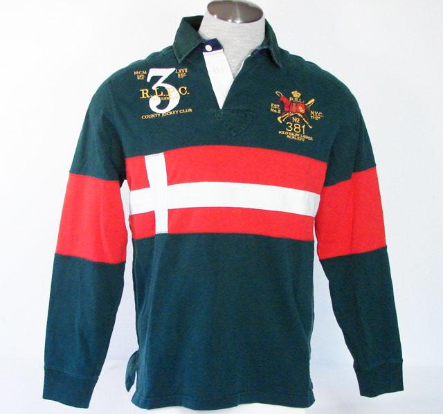 Dallas penn wearing polo ralph lauren county jockey club for Ralph lauren polo club shirts