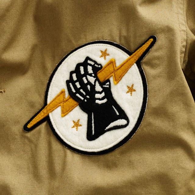 Smoke Dza Wearing Rrl Ralph Lauren Lightning Bolt Varsity