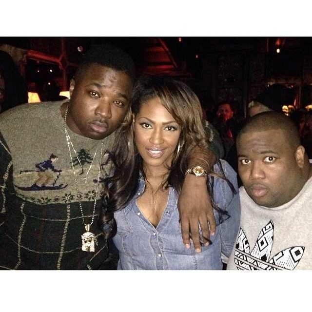 troy ave play cloths party wearing vintage polo ralph lauren twin ski men sweater