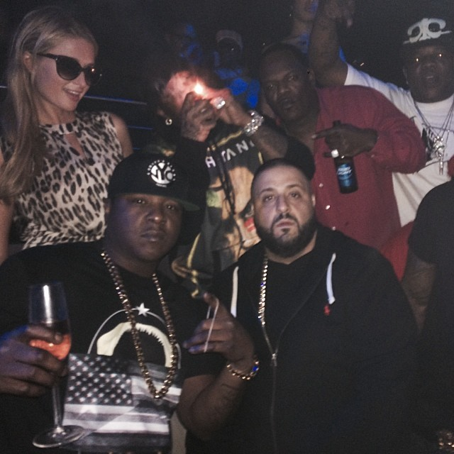jadakiss-givenchy-flag-collage-shirt-paris-hilton-dj-khaled-birdman