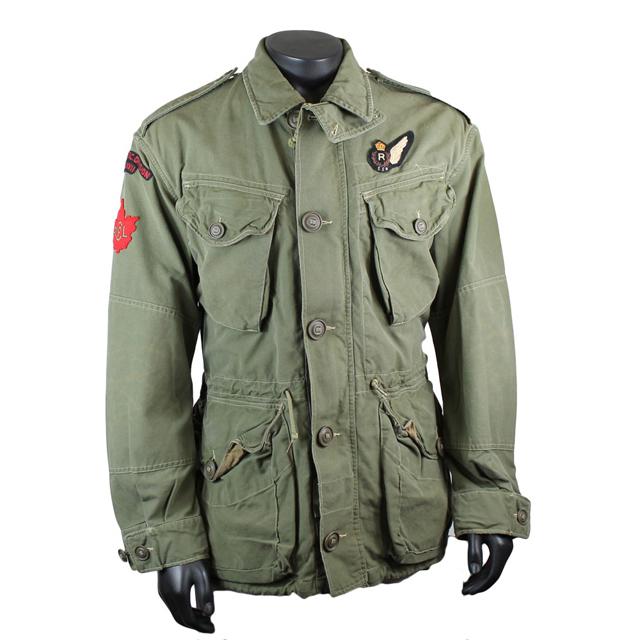 In Wearing Twill Military Ralph Lauren Combat Polo Nas Jacket VUMzpS