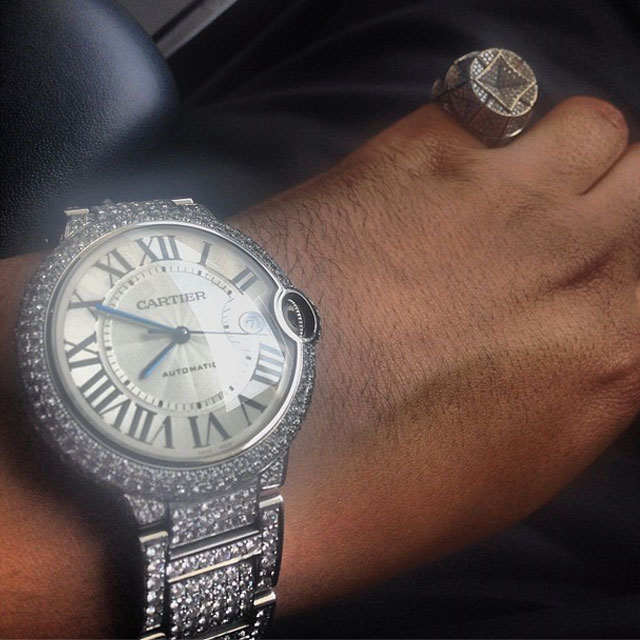 french-montana-iced-out-cartier-ballon-bleu-watch