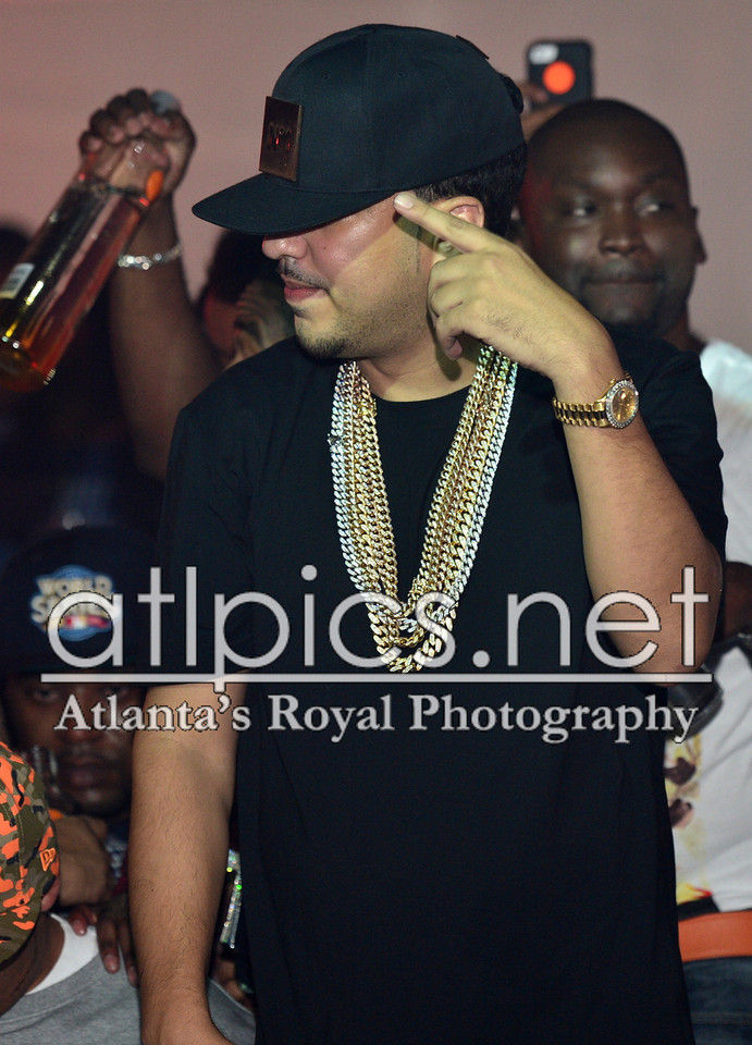 french-montana-rolex-day-date-president-watch-yellow-gold-champagne-stick-dial-iced-out-cuban-link-chains