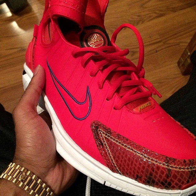 best loved 6ccad c6d78 Roc Marciano wearing Nike Air Huarache 2K4 Year of the Snakes On Feet