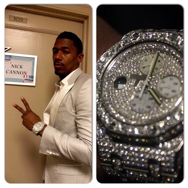 nick-cannon-audemars-piguet-royal-oak-offshore-diamond-watch-traxnyc