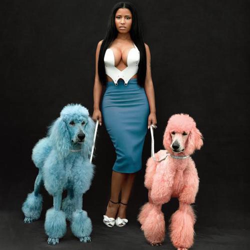 Nicki Minaj Featured In The November GQ Magazine