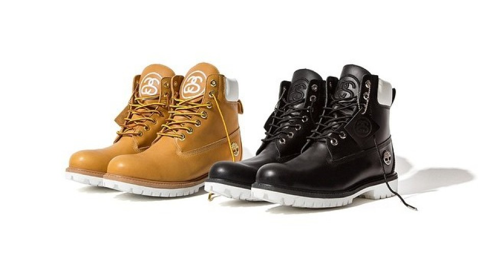 Stussy For Timberland 6-Inch Boots Holiday 2014