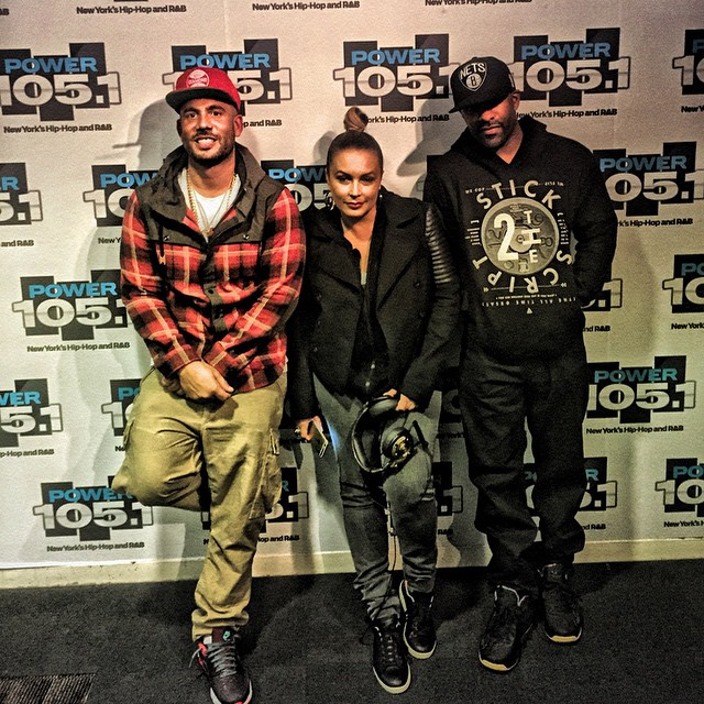 dj-drama-polo-ralph-lauren-plaid-hooded-workshirt-2014-fall-angie-martinez-dj-clue