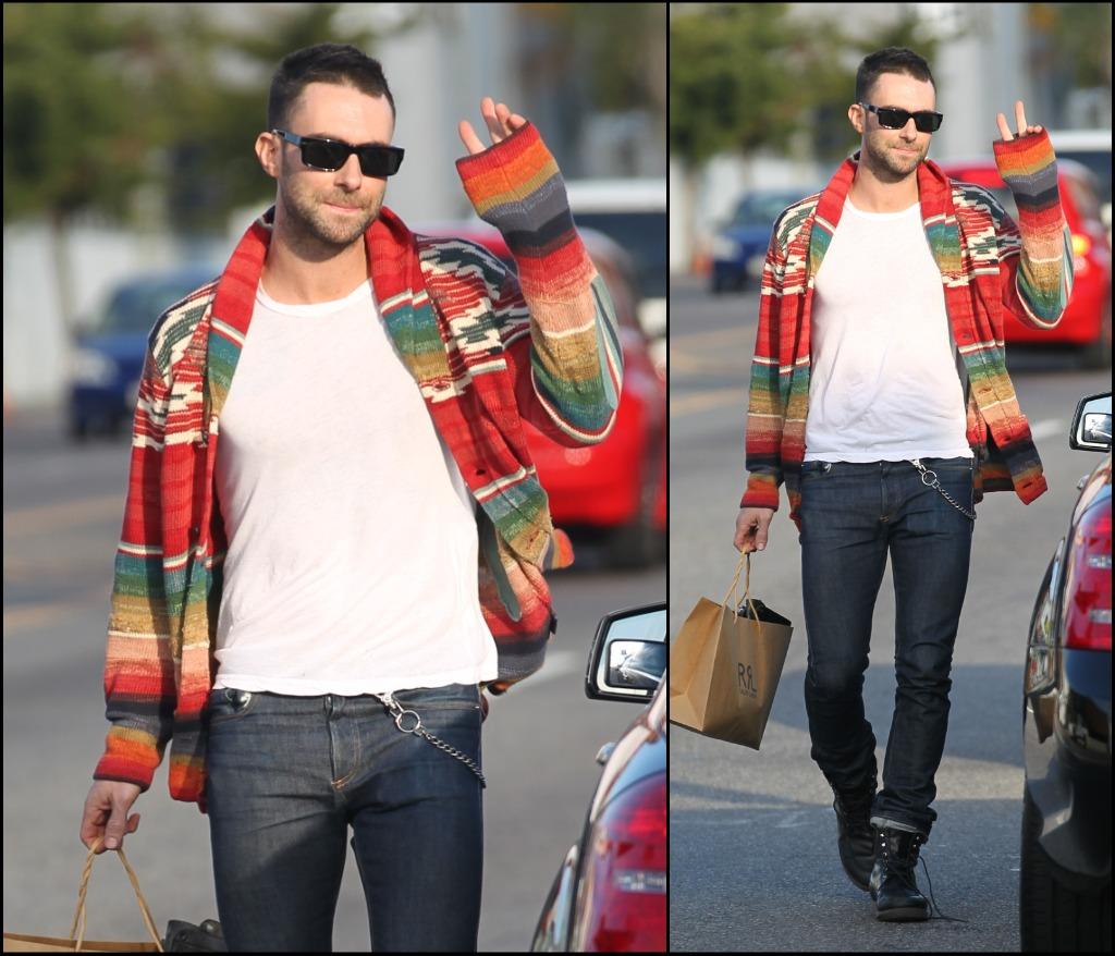Adam Levine Sweater 4